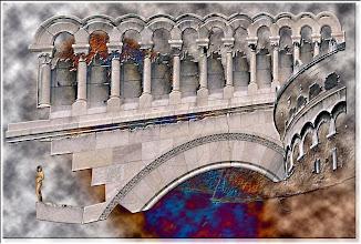 Photo: 2003 07 04 - D 64 A 02 w - D 030 - Juchnelda auf der Engelburg