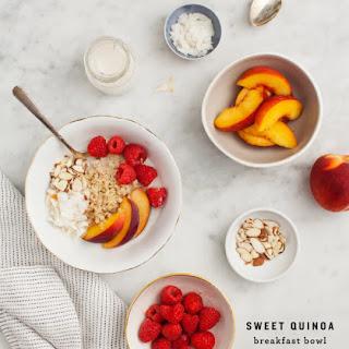 Cinnamon Quinoa Breakfast Bowl