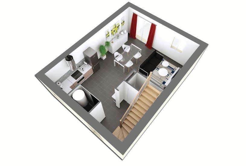 Vente Terrain + Maison - Terrain : 600m² - Maison : 75m² à Longperrier (77230)