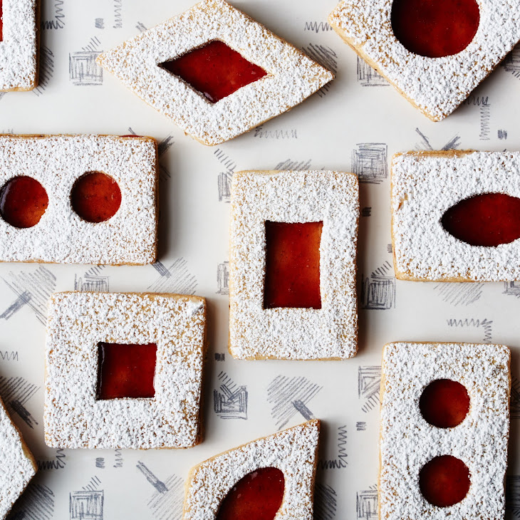 Spiced Brown Butter Linzer Cookies Recipe | Yummly