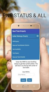 Pnr status irctc /train pnr status/indian railway App Download For Android 2
