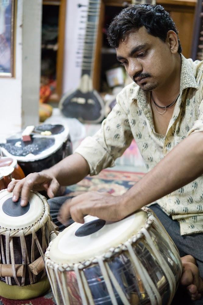 Tabla in the music shop
