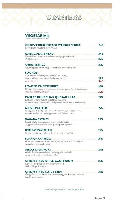 Bier Garten Top menu 4