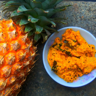 Tropical Creamy Coconut Pineapple curry
