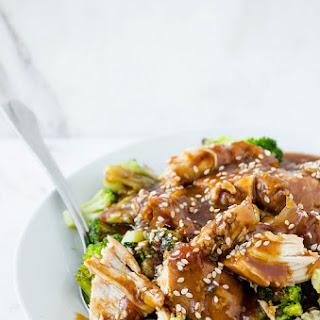 Slow Cooker Sesame Garlic Chicken