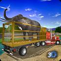 Offroad Animal Truck Transport Driving Simulator icon