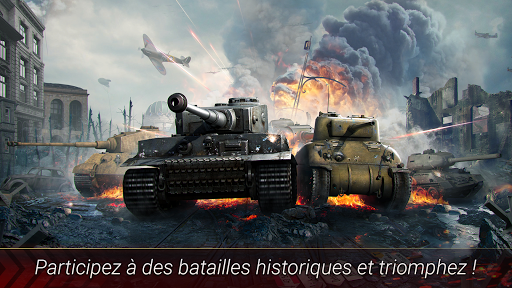World of Armored Heroes: WW2 Tank Strategy Warfare  captures d'écran 1