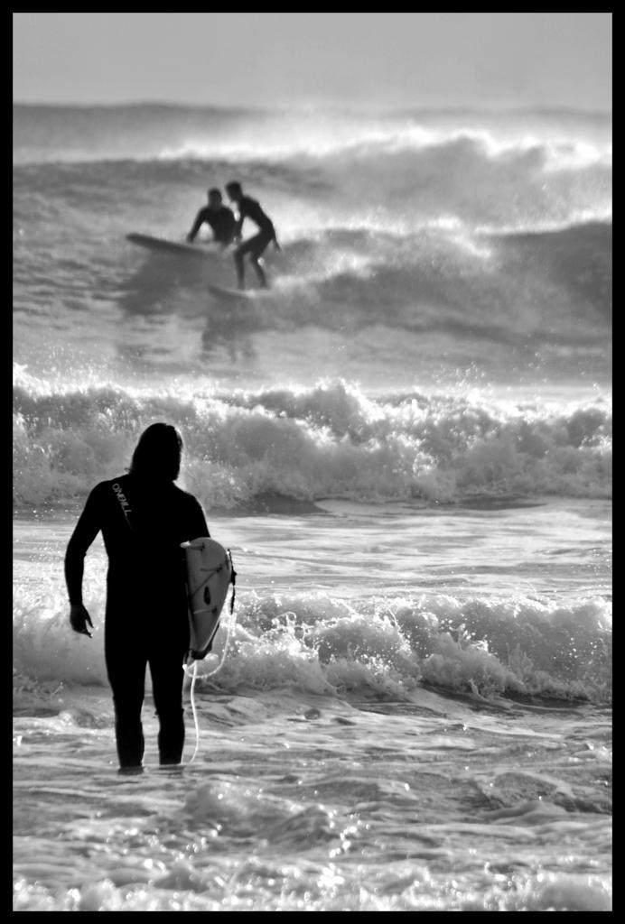 Surfisti a La Punta di Càmula