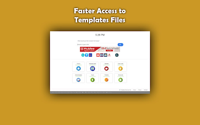 Templates Discovery Tab