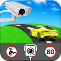 GPS Speed Camera Detector Free - Speed Alert App icon