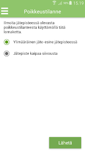 JäteAppi- screenshot thumbnail