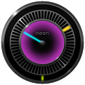 NEW NEON Laser Clock Widget icon