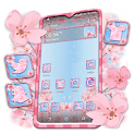 Cherry Blossom Spring Launcher Theme icon