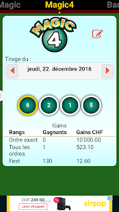 Swiss Lotto Lotery- screenshot thumbnail