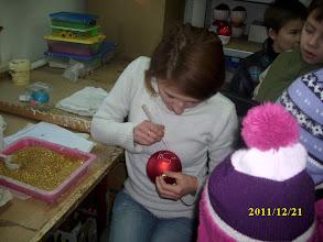 Photo: Ozdabianie jest wykonywane ręcznie