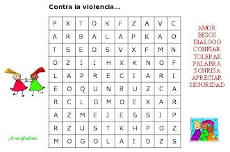 Photo: Sopa de Letras contra la violencia