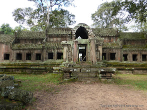Photo: The East gate (back of) Angkor Wat - Our guide took us in the back way to avoid the crush of tourists.
