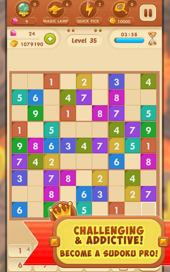 Sudoku Quest Free- screenshot