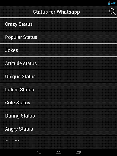 #10. Status for Whatsapp (Android)