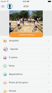 Eduvation App - náhled