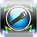 Bright flashlight & strobe icon