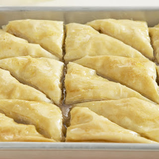 Macadamia and Cinnamon Baklava.