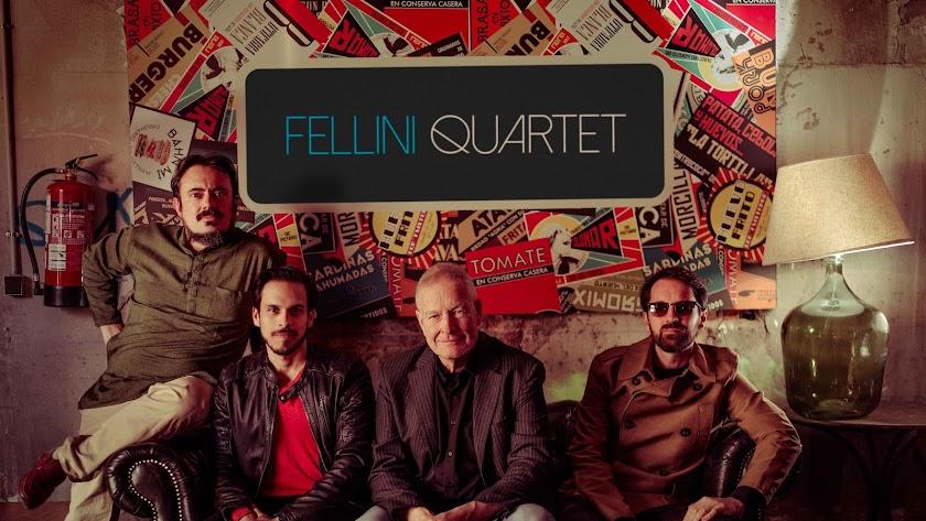 fellini quartet interpretara al ritmo de jazz la noche del 1 de agosto.