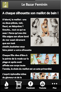 Le Bazar Feminin screenshot 0