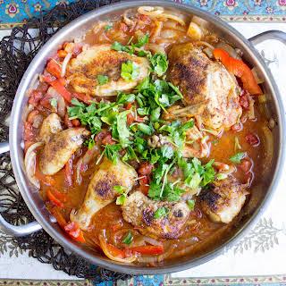 Basque Style Chicken.