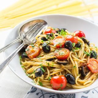 Slutty Spaghetti aka Spaghetti alla puttanesca