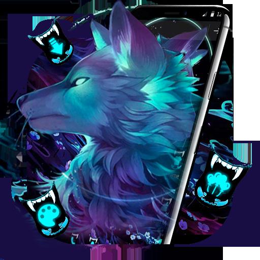 Dark Night Magic Wolf Theme