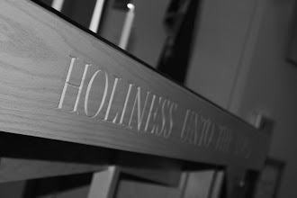 Photo: The Holiness Table in The Chapel