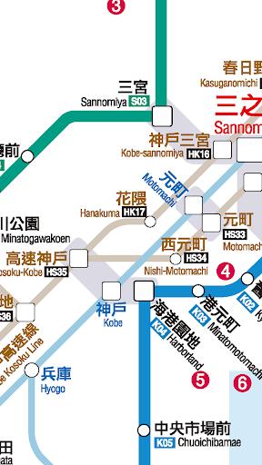 玩免費遊戲APP|下載神戶地鐵路線圖 app不用錢|硬是要APP