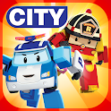 Robocar Poli and Amber: Rescue Town and City Games icon