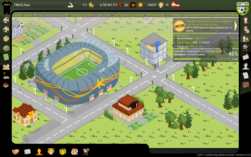 Kick it out Soccer Manager 10.0.1 screenshots 4