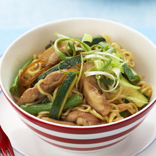 Teriyaki Chicken with Noodles.