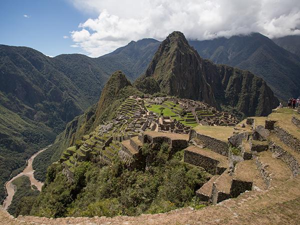 Hantu di Macchu piccu Peru