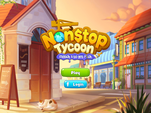 Nonstop Tycoon - Match 3 to get rich  screenshots 8