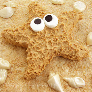 on a Rice Krispies Treat Sandy Beach