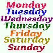 Tải Día de la semana miễn phí