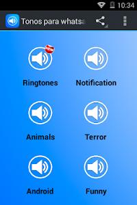 Notifications Ringtones screenshot 0