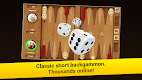 screenshot of Backgammon Short Arena: Play online backgammon!