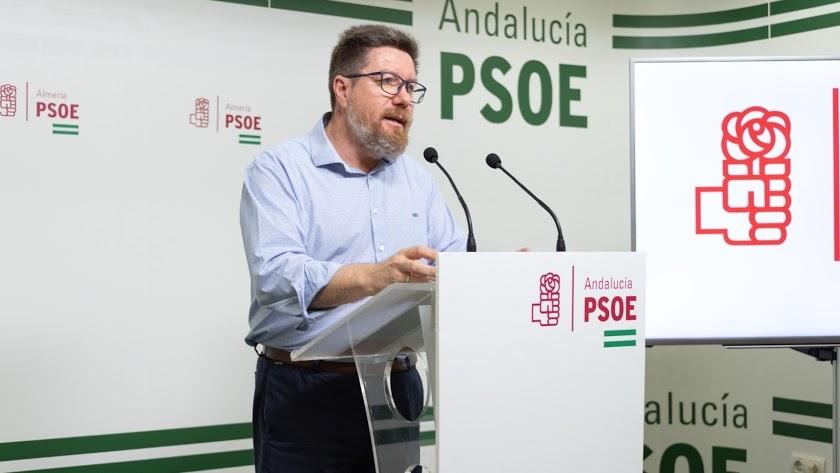 Rodrigo Sánchez Haro es portavoz adjunto del Grupo Socialista en el Parlamento andaluz.