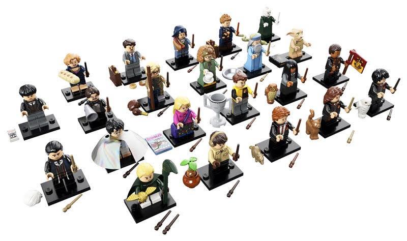 Contenido de Lego® 71022 Sobre Sorpresa La Lego® Harry Potter, Caja Completa