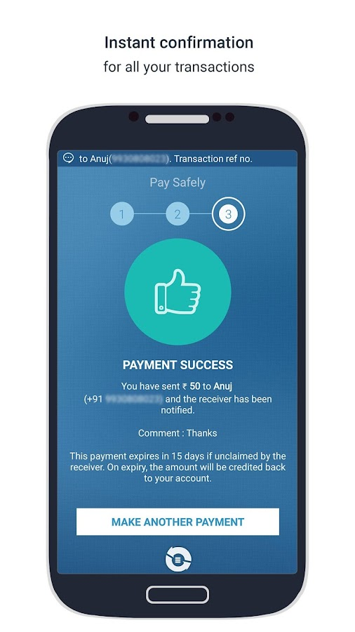 PayTonic-Pay any mobile number- screenshot