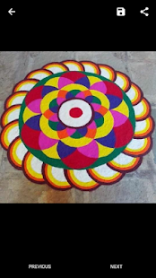 Colored Rangoli & Rangoli Design - náhled