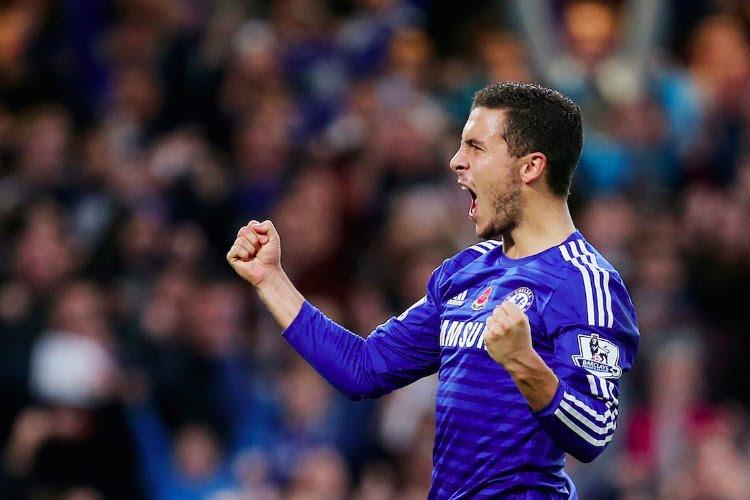 Buteur, Eden Hazard a montré la voie aux Blues