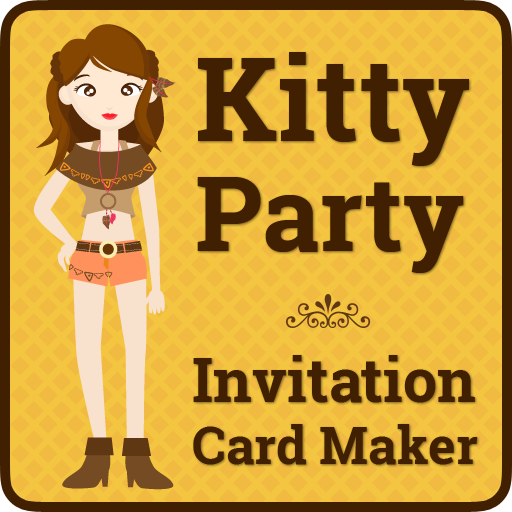 Kitty party invitation cards apps on google play stopboris Images