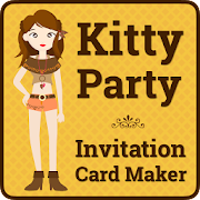 Kitty party invitation cards apps on google play kitty party invitation cards stopboris Choice Image