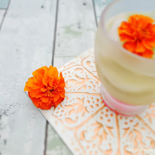 Marigold Tea Cocktail